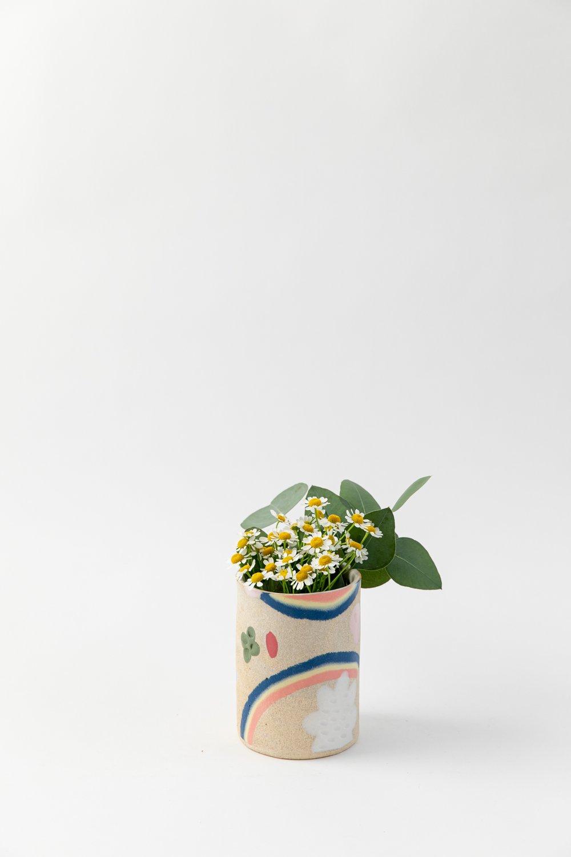 Image of Small Utensil Holder / Vase - Lucky Charms