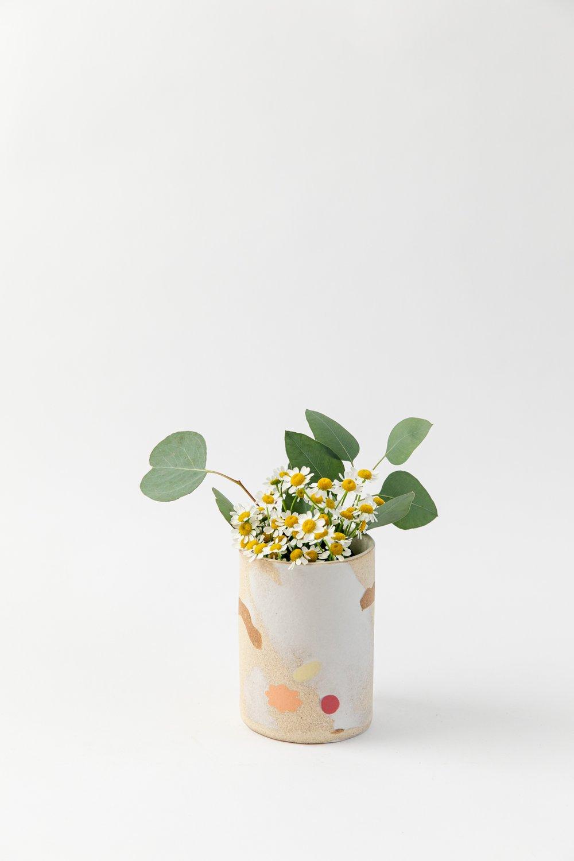Image of Small Utensil Holder - Lemon Tart