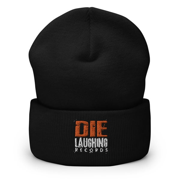Image of Die Laughing Records - Cuffed Beanie