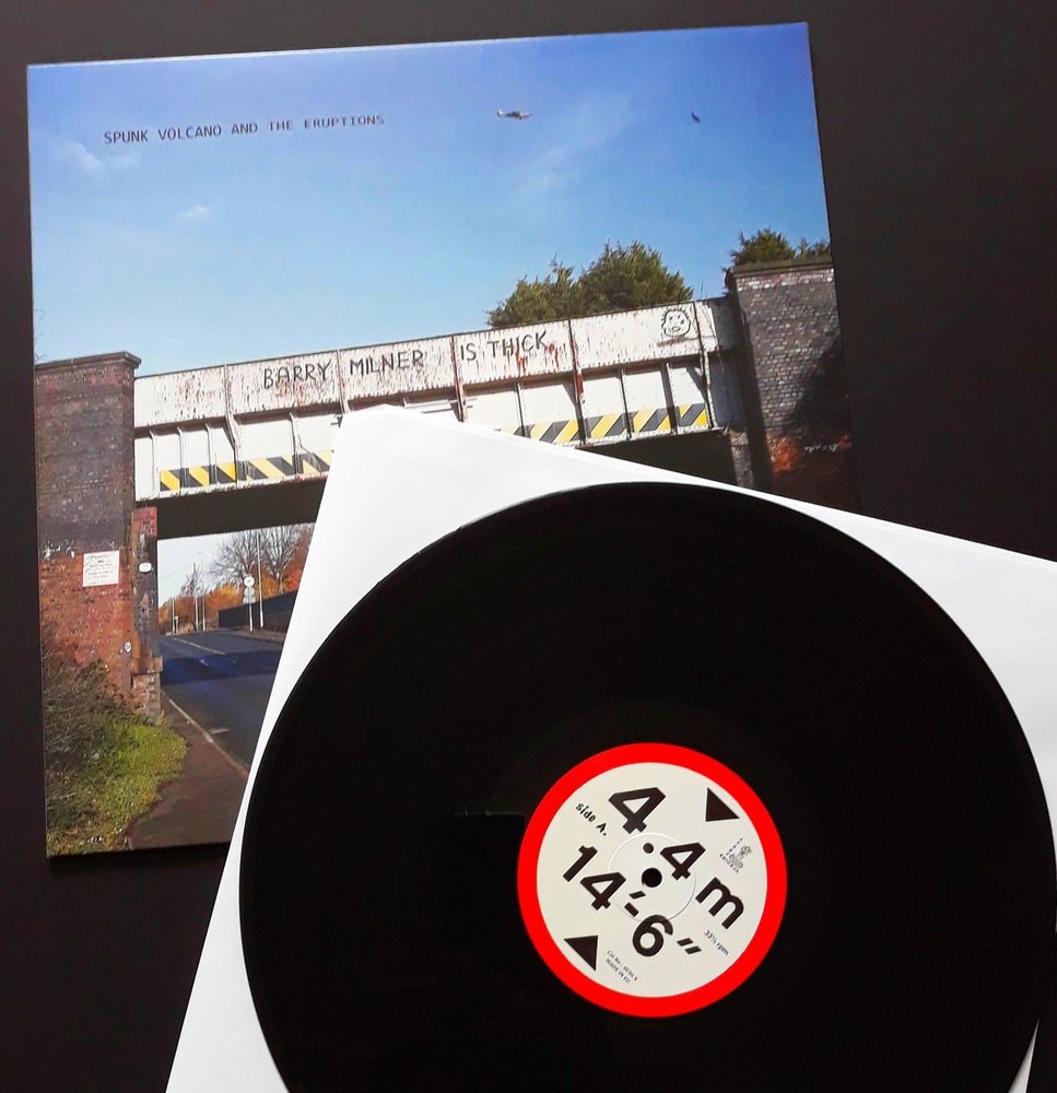 Image of BARRY MILNER IS THICK - VINYL  (4th Dec 2020)