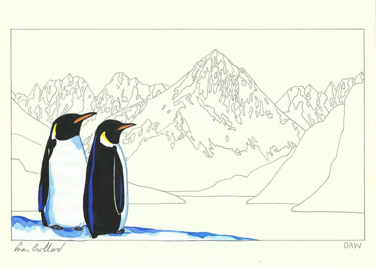 Image of Emperor Penguins and Atalanta II