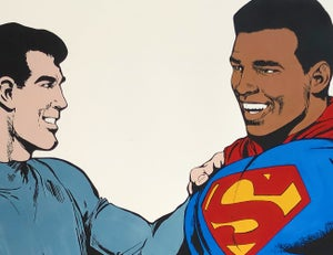 """Digigraphie / """"Black Superman"""""""