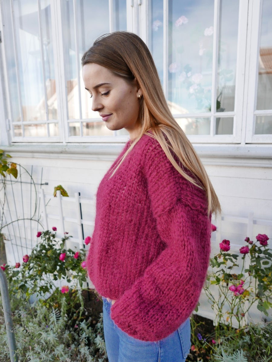 Image of The Clara Sweater - Bordeaux