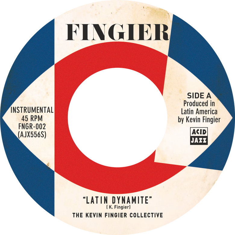"Image of The Kevin Fingier Collective - Latin Dynamite / El Basement 7"" (Pre-Order)"