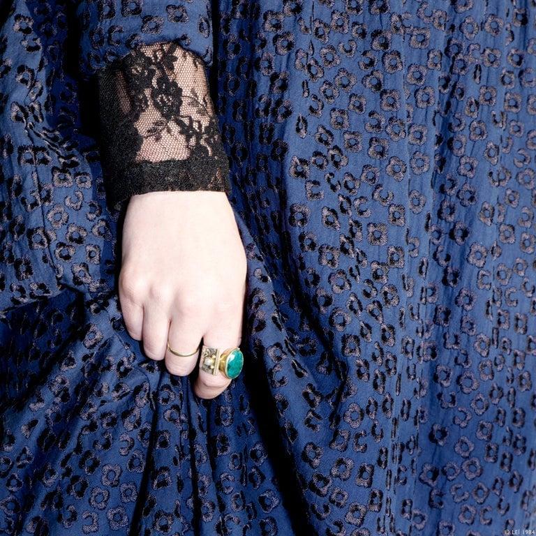 Image of Robe longue boutonnée, brodée FRIDA 210€ -60%