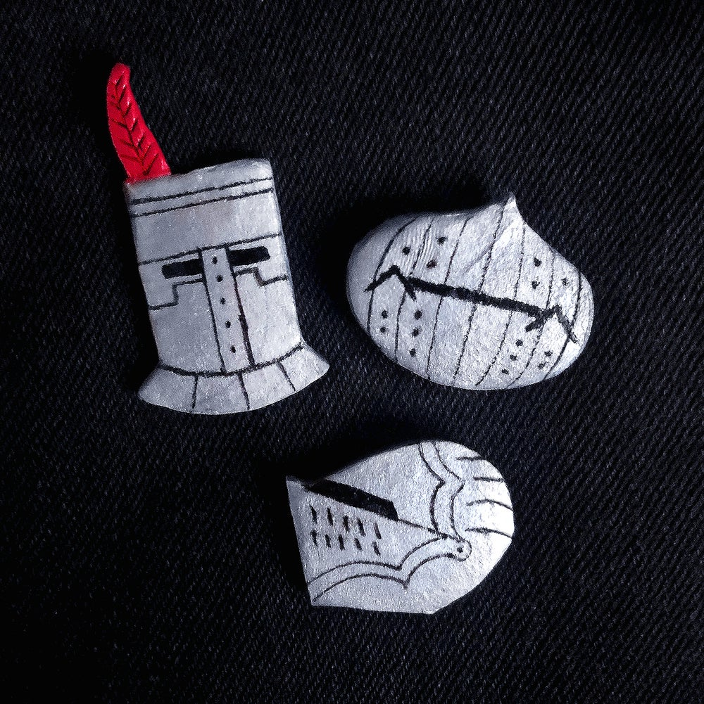 Dark Souls Handmade Helmet Badge