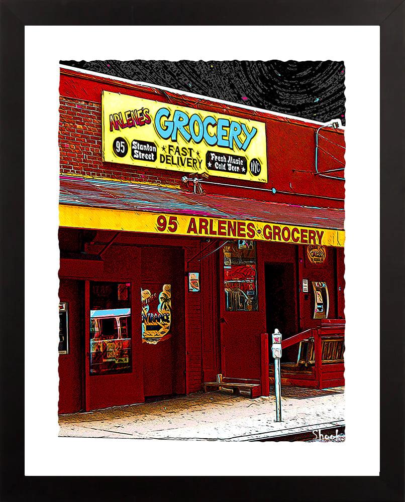 "Arlene's Grocery NYC Giclée Art Print - 11"" x 14"""