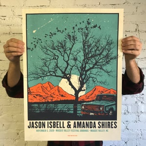 Image of Jason Isbell & Amanda Shires, Maggie Valley, NC 2020
