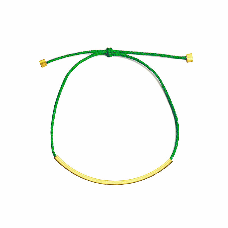 Image of BASIC BRACELET - GREEN