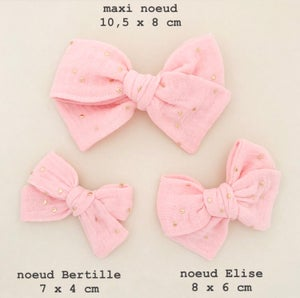 Image of Barrette & bloomer coton vichy noir & blanc