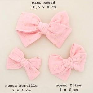 Image of Barrette, bloomer & petite jupe double gaze brique & lurex