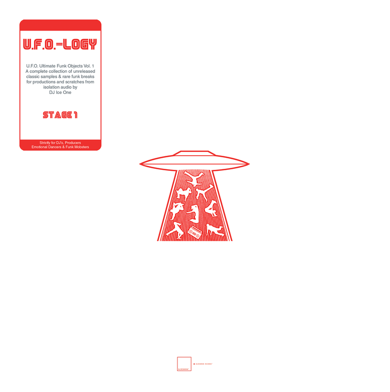 "Image of 12"" Vinyl - DJ Ice One - U.F.O.-LOGY"