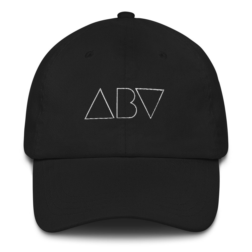 Image of ABV Logo Dad Hat - Black