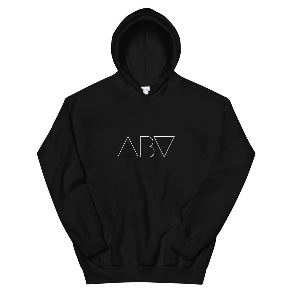 Image of ABV Logo Hoodie - Black