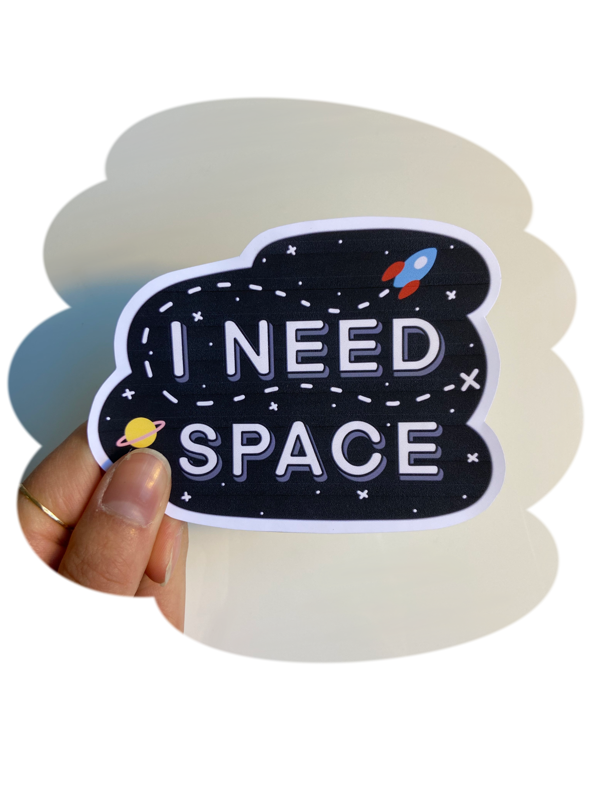 Image of I Need Space - Sticker