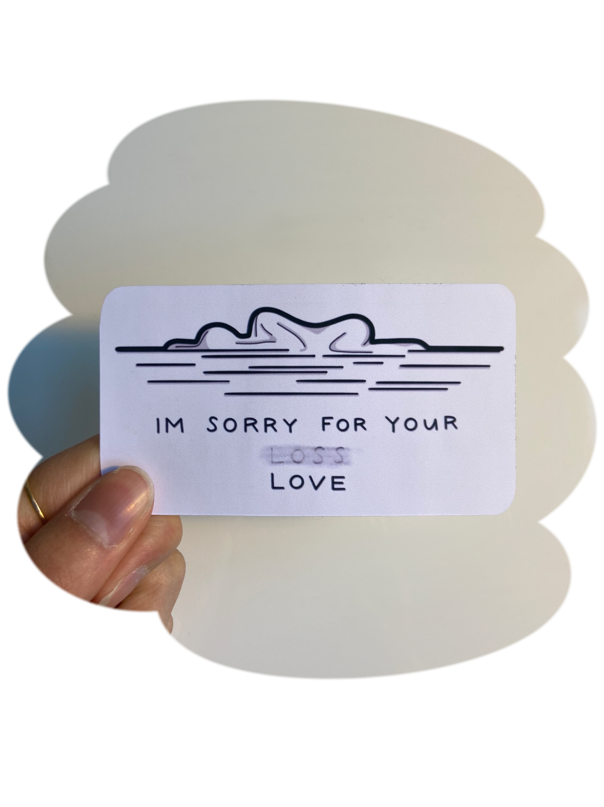 Image of I'm Sorry for your Love - Sticker