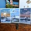 Surfer greetings cards