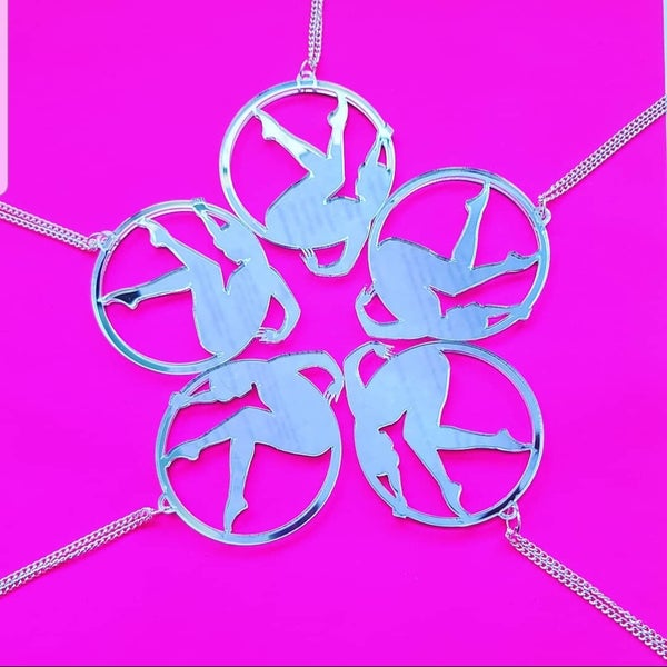 Image of Aerial Hoop Necklace