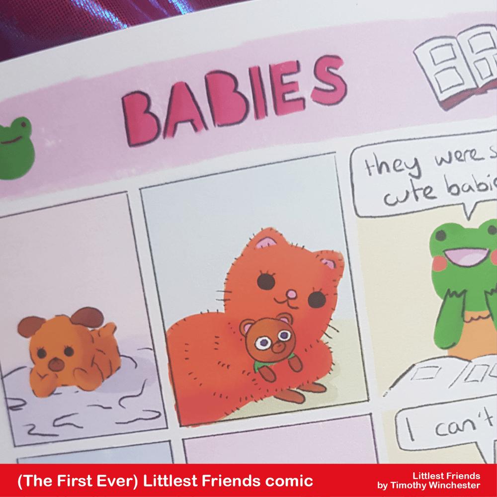 (The very first) Littlest Friends - A5 comic
