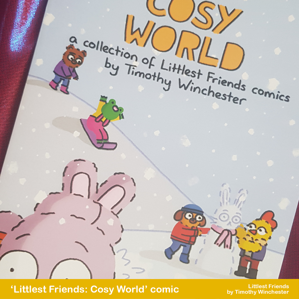 Littlest Friends: Cosy World - A5 comic
