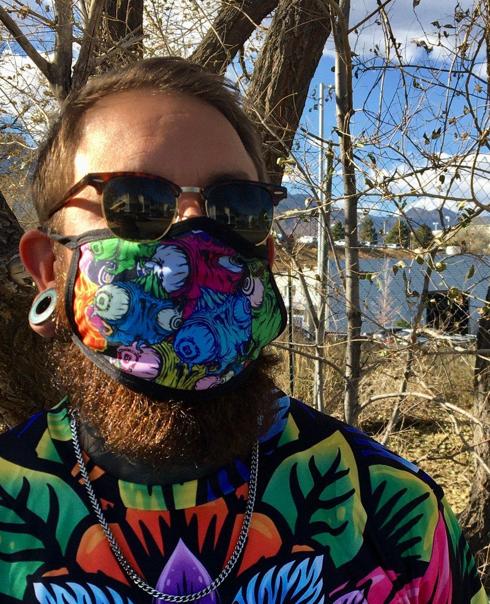 Image of Grom Alien Face Mask