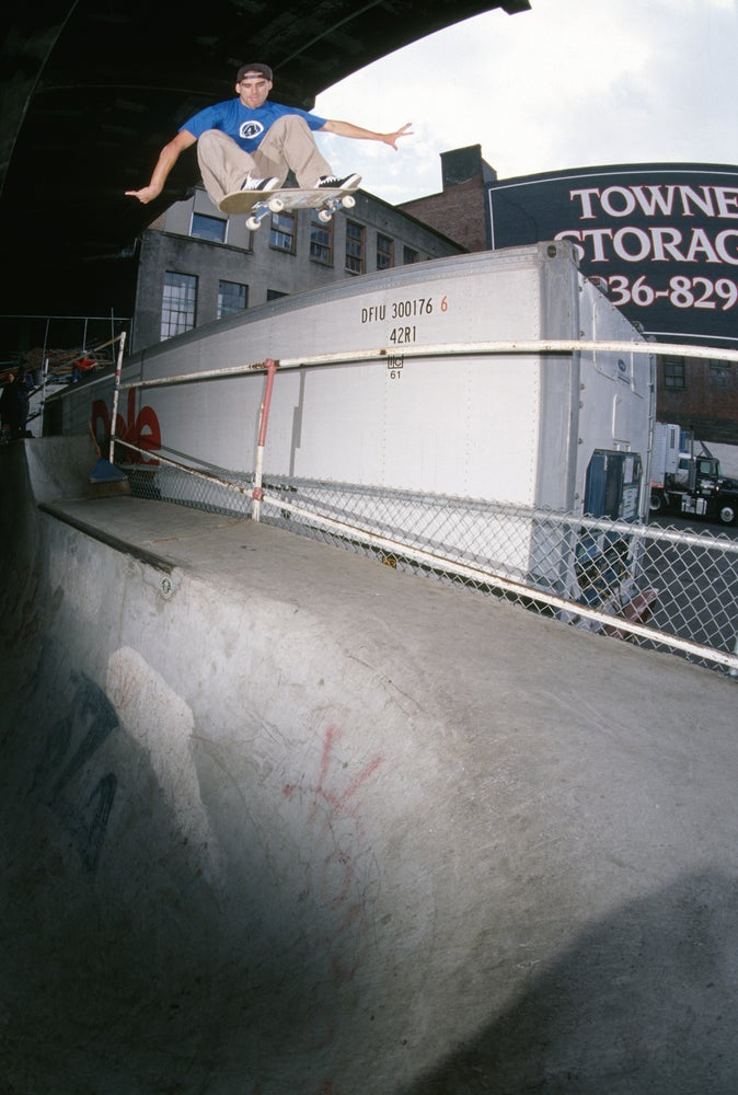 John Cardiel Burnside 1997 by Tobin Yelland
