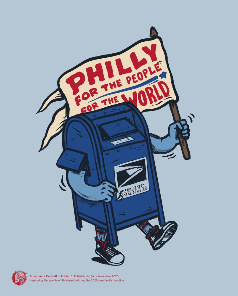 Image of Philly for the People print