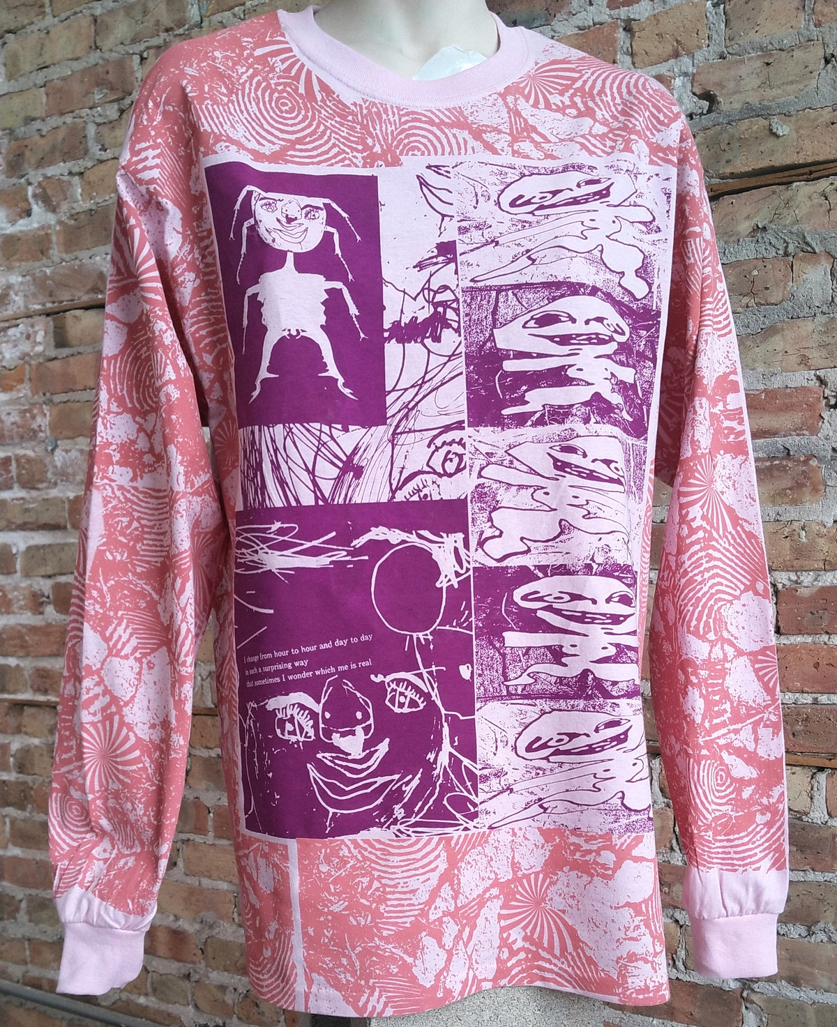 Image of I Diffuse Pinky-Purple Longsleeve [ALL SIZES]