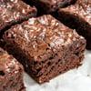 Galaxy Triple Chocolate Brownies