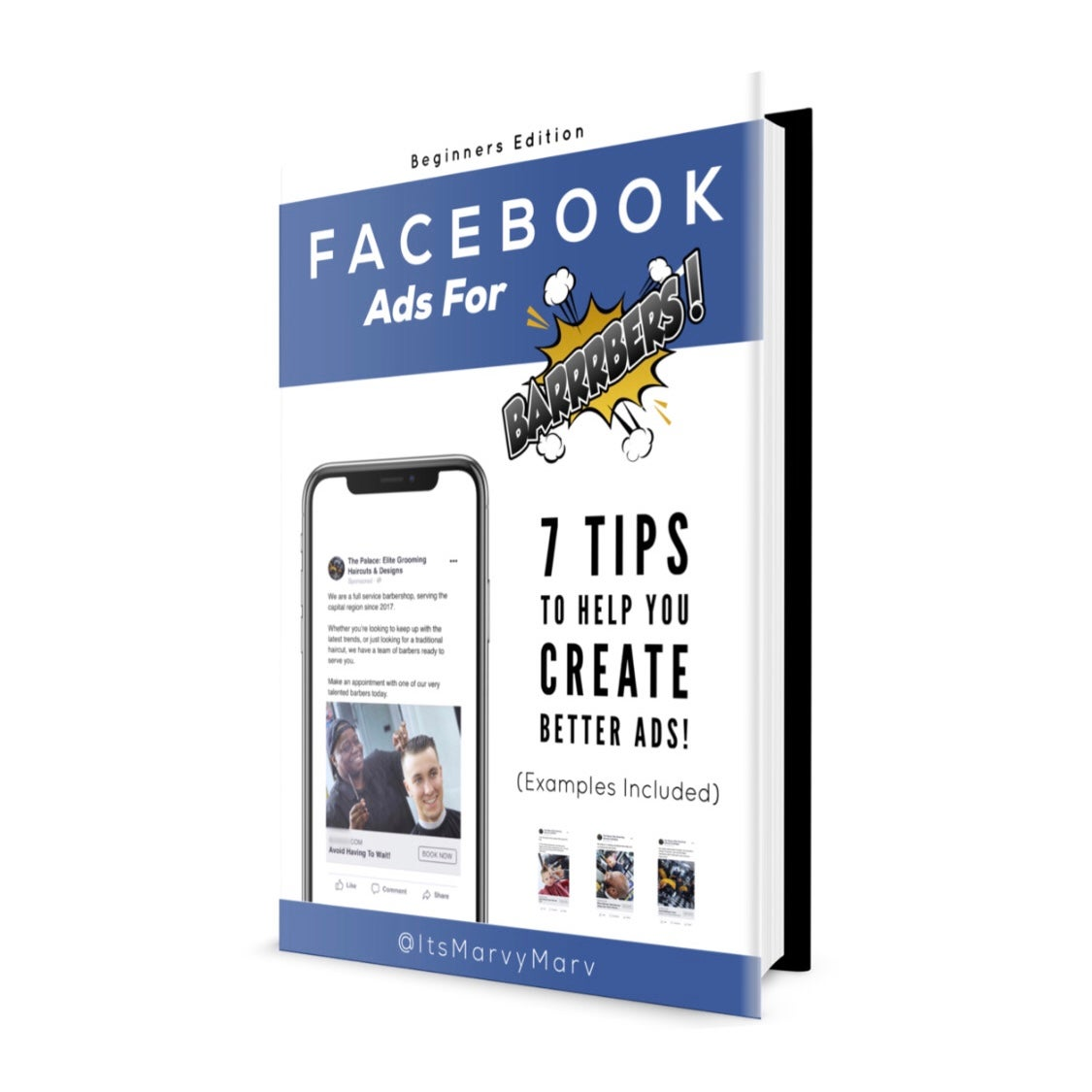 Image of *NEW RELEASE!* Facebook Ads For BARRRBERS! eBook