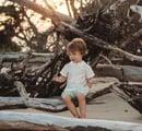 Image 2 of Boy's Holiday Peter Pan Collar Shirt & Short Set