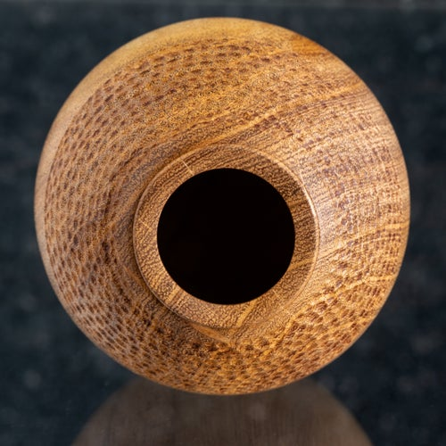Image of Textured Mesquite Hollow Form