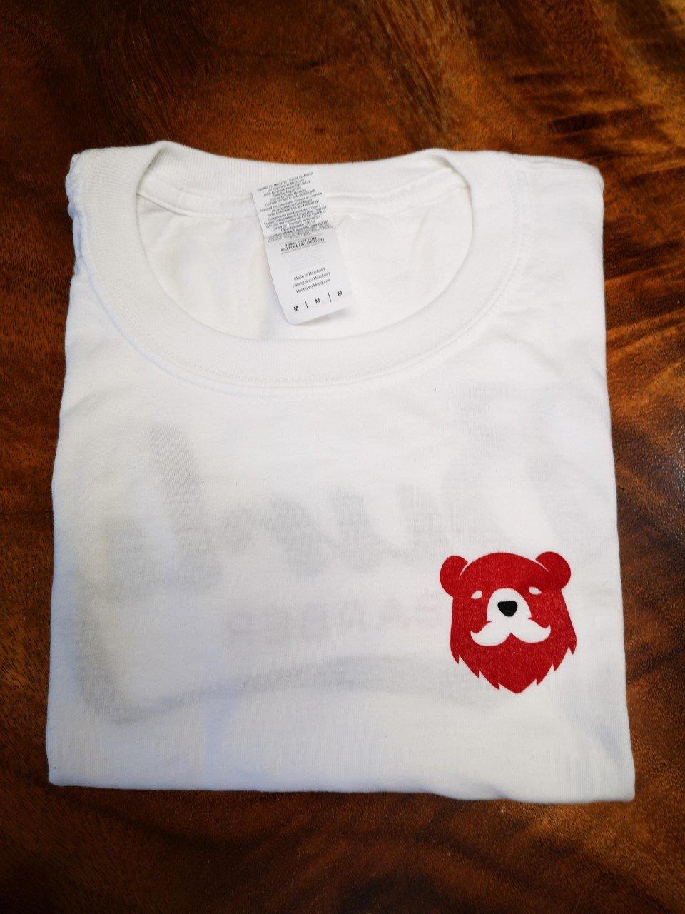 Burly Barber T-Shirt - White