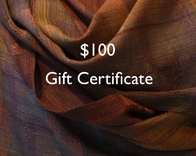 Image of Gift Certificate $100