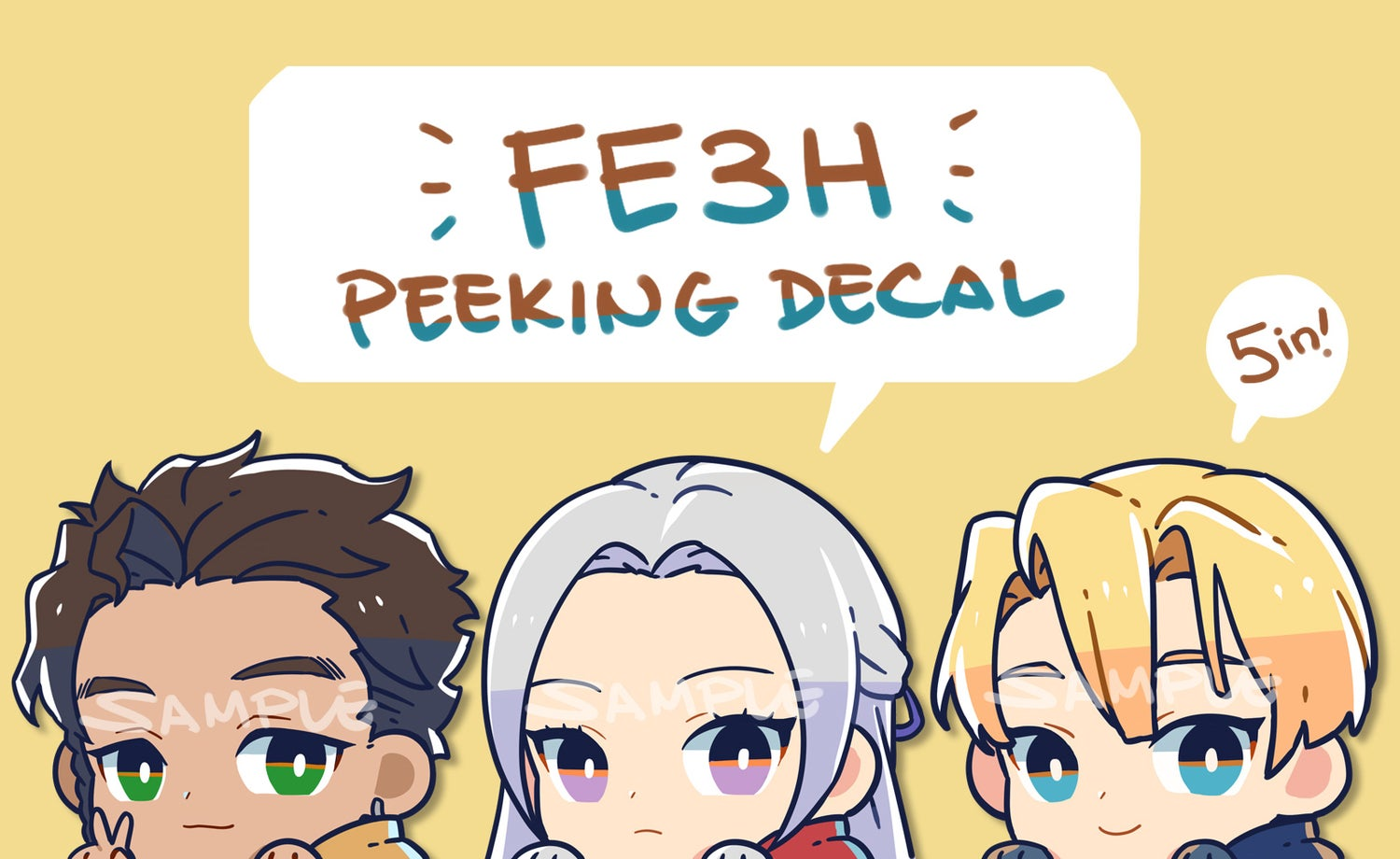 Image of FE3H Decals