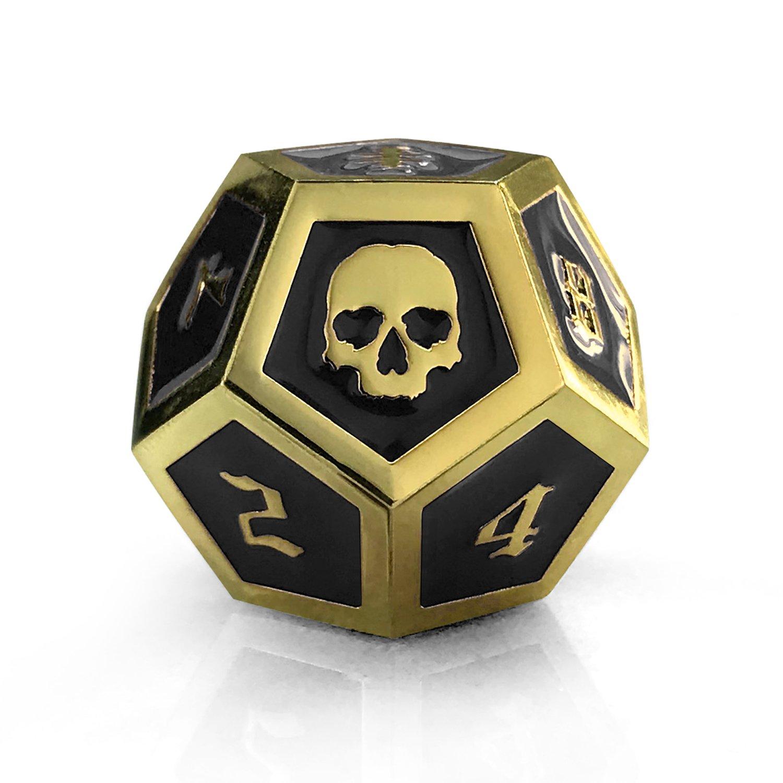 Image of Black & Gold Die