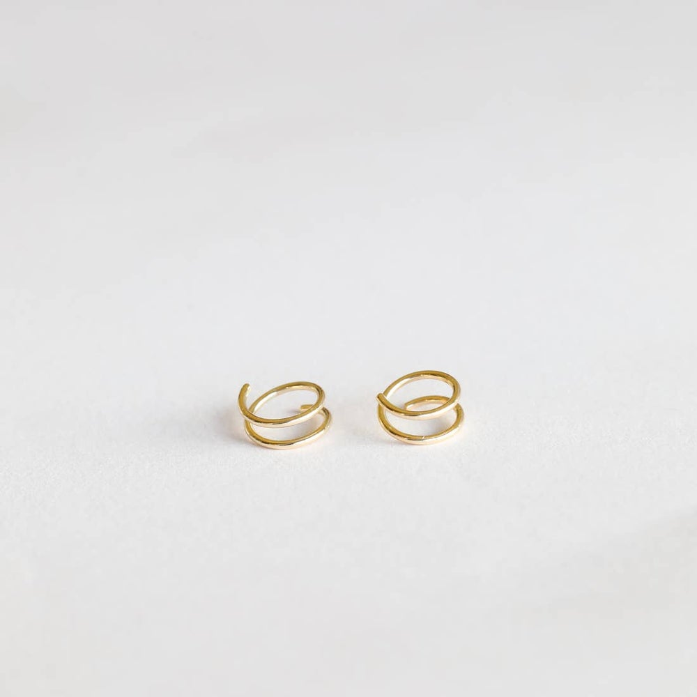 Image of Jax Kelly-Minimalist Spiral Earrings