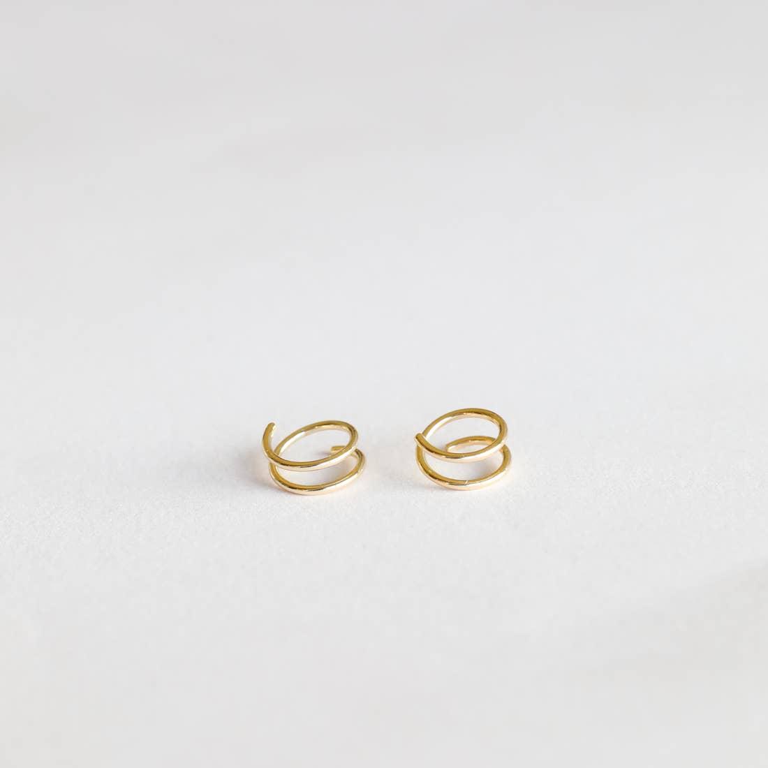 Image of Jax Kelly-Minimalist Spiral Earrings