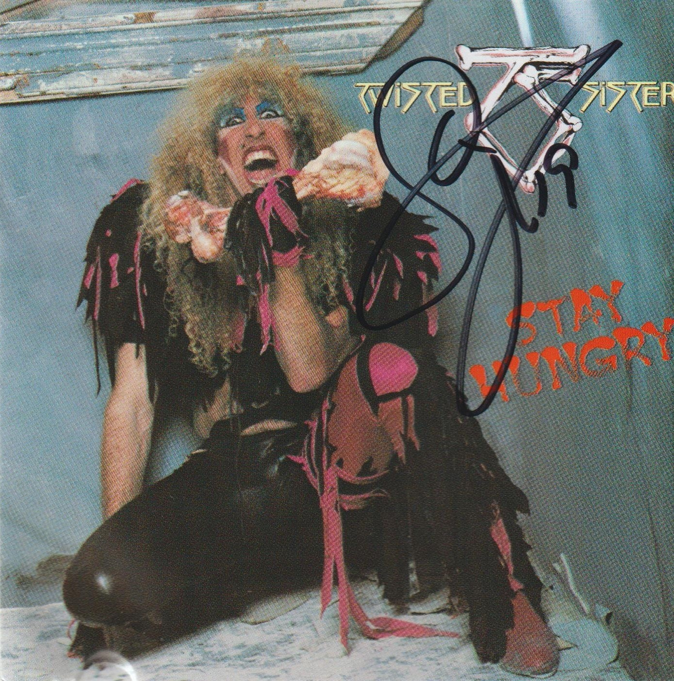 Image of TWISTED SISTER - Stay Hungry - CD Autographed
