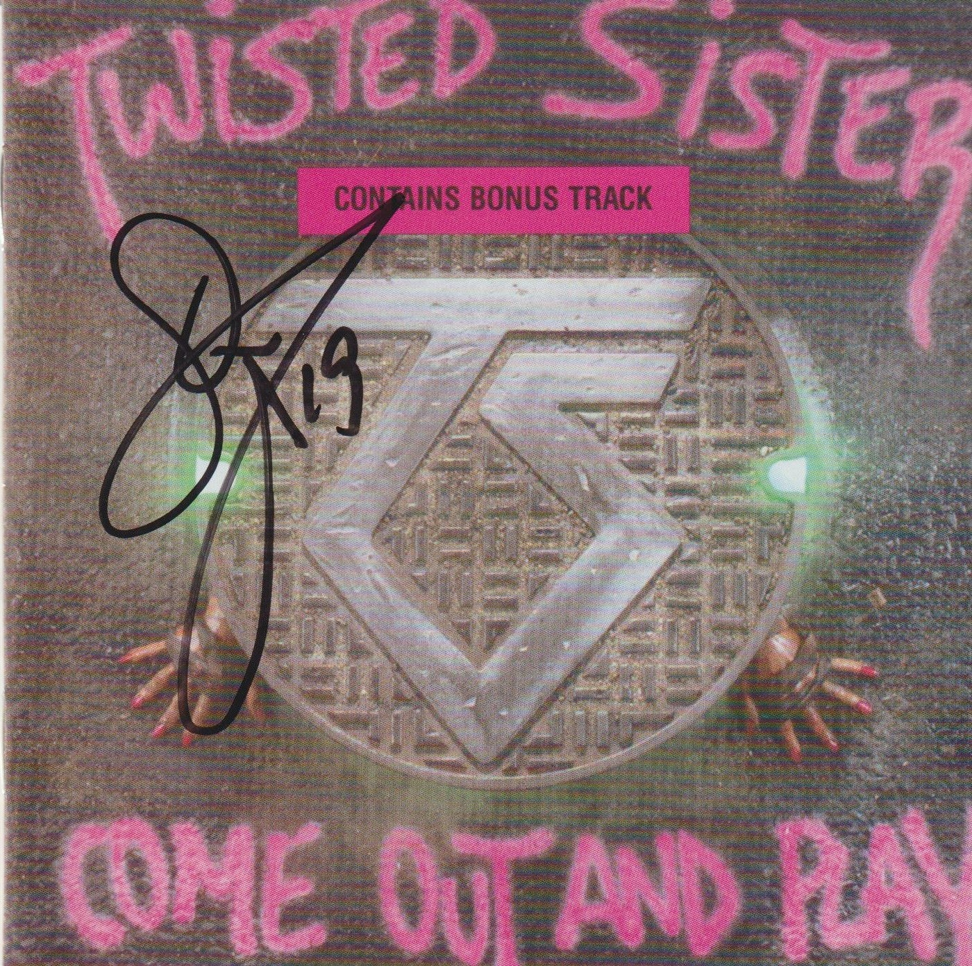 Image of TWISTED SISTER - Come Out And Play - CD Autographed