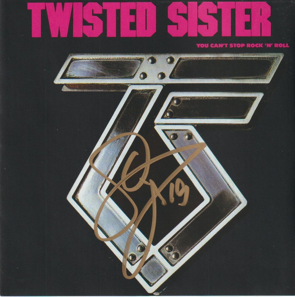 Image of TWISTED SISTER - You Can't Stop Rock 'N' Roll - CD Autographed