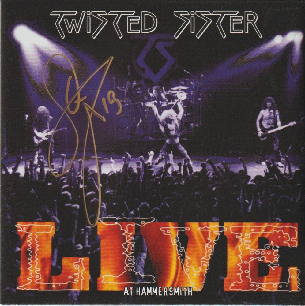 Image of TWISTED SISTER - Live At Hammersmith - 2CD Autographed