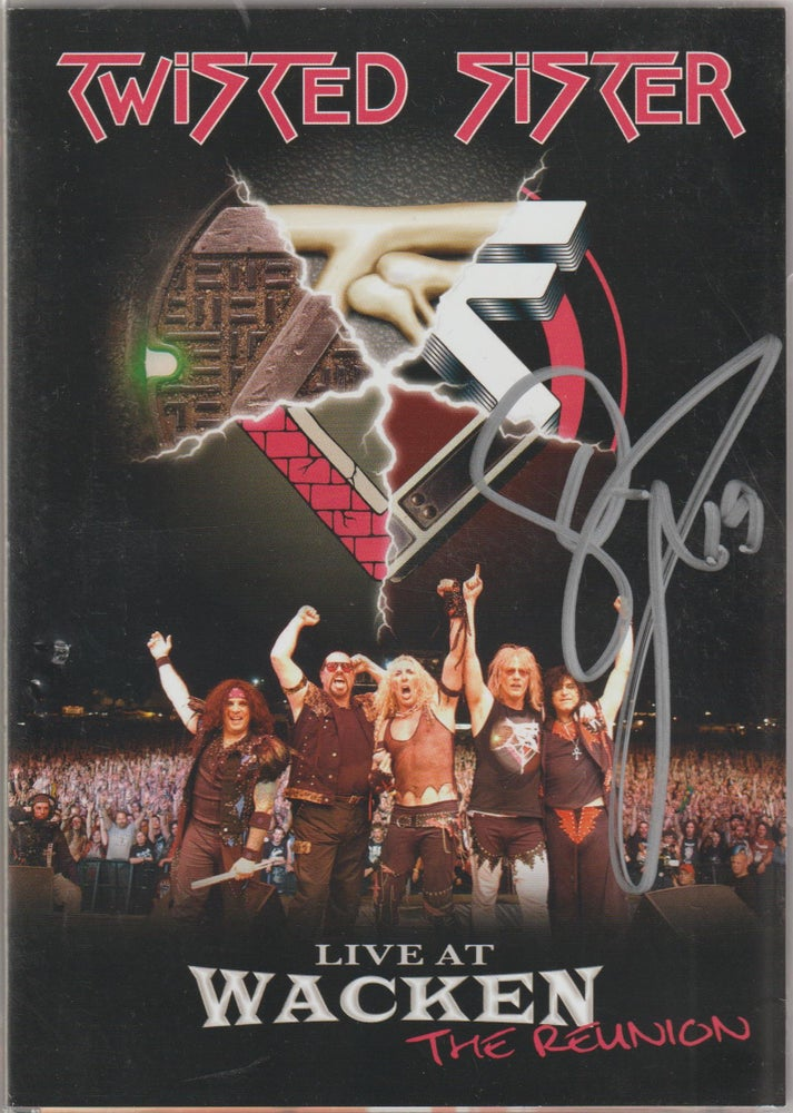 Image of TWISTED SISTER - Live At Wacken / The Reunion - DVD/CD Autographed - LAST ONE
