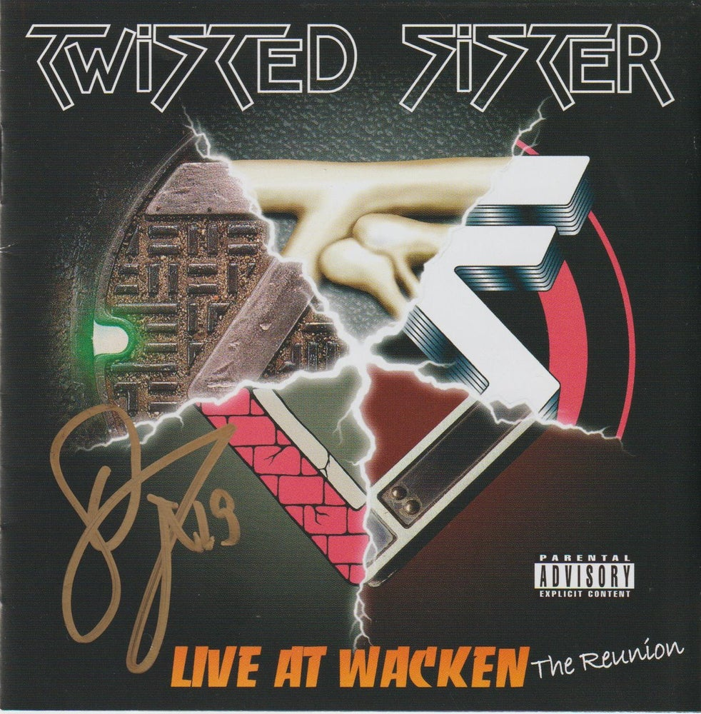 Image of TWISTED SISTER - Live At Wacken / The Reunion - CD Autographed ONE IN STOCK