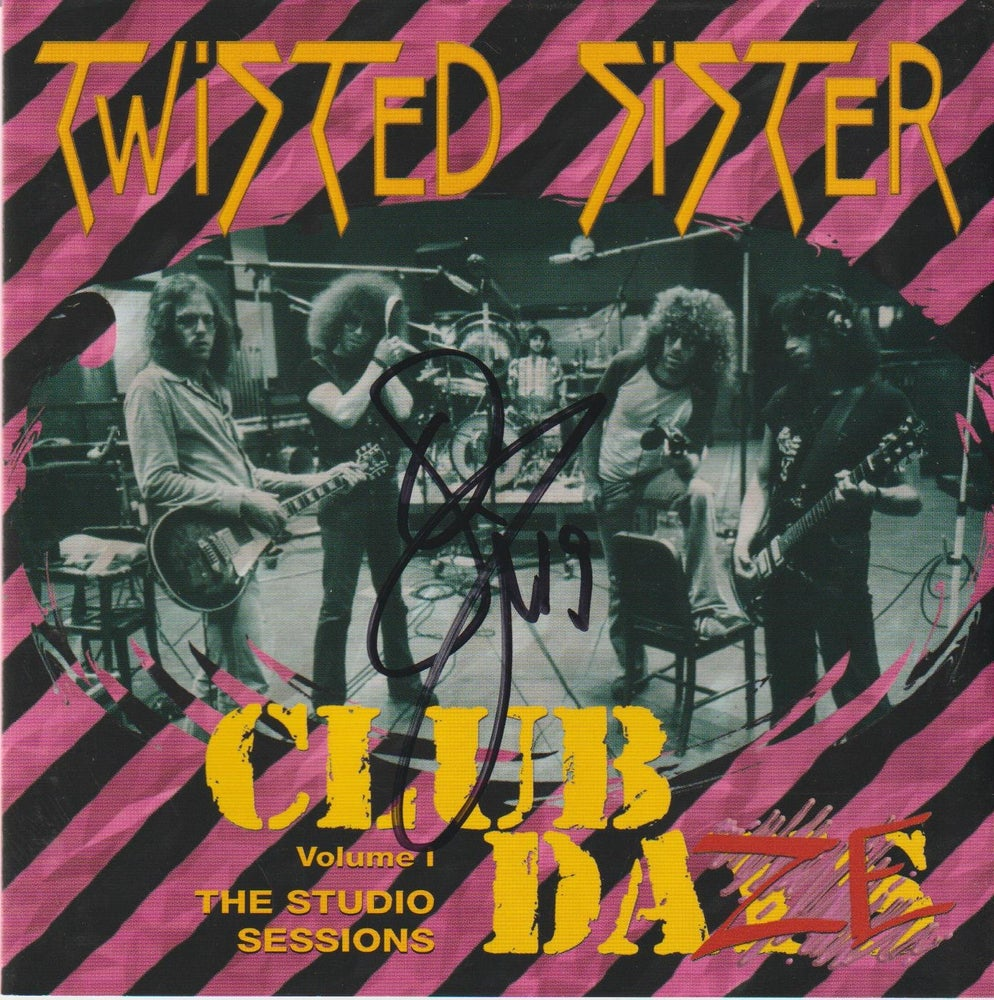 Image of TWISTED SISTER - Club Daze Volume 1 / The Studio Sessions - CD Autographed TWO COPIES LEFT