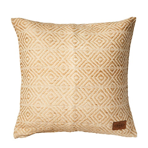 Image of NATURAL LARGE CUSHION - WITH INNER