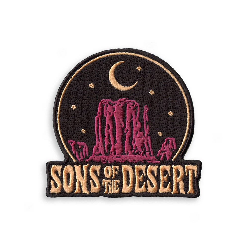 Image of 'SONS OF THE DESERT' Patch