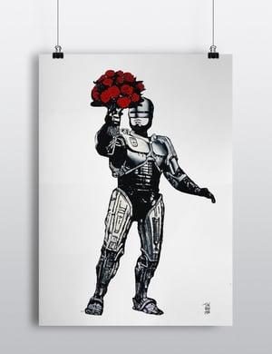 """Digigraphie / """"Le romantisme c'est un truc de cyborg"""""""