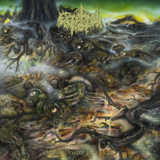 Image of Cerebral Rot - Odious Descent Into Decay LP