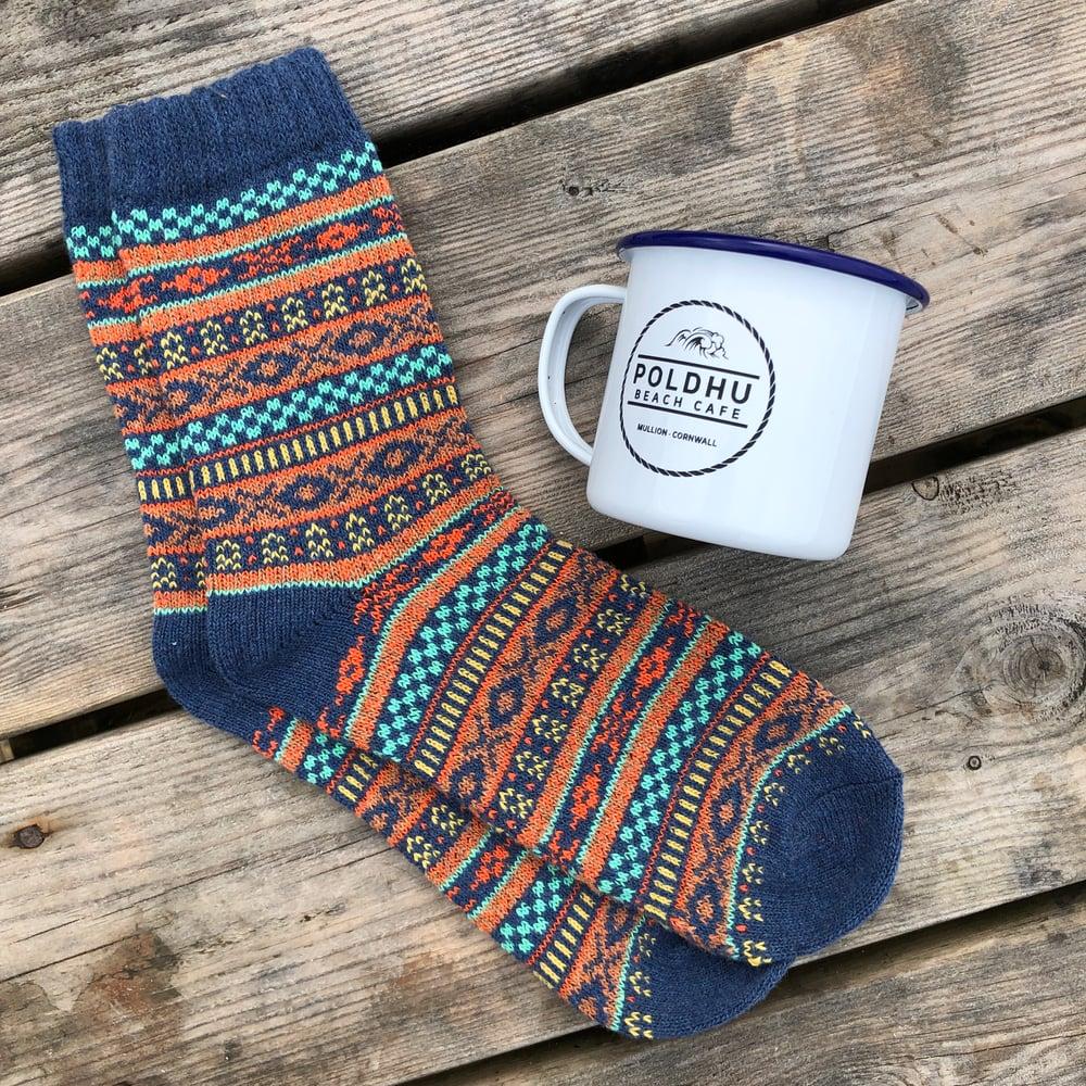 Mens Sock & Cup Gift Set